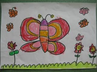 张乐仪 我喜欢花蝴蝶